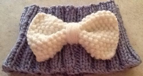 Dog Cowl with Bow