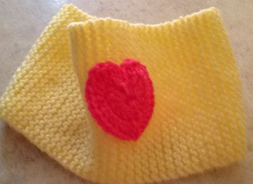 Dog Cowl with Heart